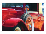 1932 Franklin by LeBaron Series 17 Art by Graham Reynolds
