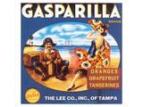Gasparilla Citrus, Florida Print