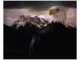 Eagle Mountain Print by Steve Hunziker