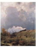 Through the Heathland Prints by Eugen Bracht