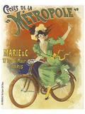 Cycles de La Metropole Posters par Lucien Baylac