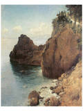Cliffs near Final-Marina Prints by Eugen Bracht