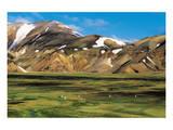 Landmannalaugur Iceland Poster