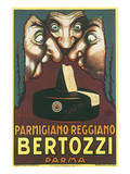 Parmigiano Reggiano Bertozzi Art by Achille Luciano Mauzan