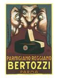 Parmigiano Reggiano Bertozzi Prints by Achille Luciano Mauzan
