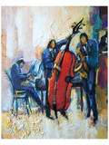The Passion of Music Print by Maya Green
