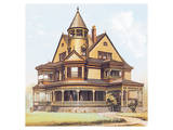 Victorian House, No. 8 Prints