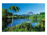Mount Taranaki New Zealand Print