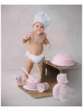 Baby Baker Posters by Linda Johnson