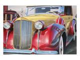 1938 Packard Phaeton Body, San Francisco Kunst av Graham Reynolds
