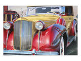 1938 Packard Phaeton Body, San Francisco Art by Graham Reynolds