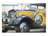 1934 Rolls Royce Phantom II Plakat av Graham Reynolds