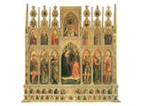 The Coronation of the Virgin Posters by Niccolo Alunno