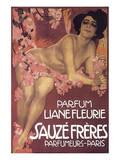 Parfum Liane Fleurie Sauze Freres Posters