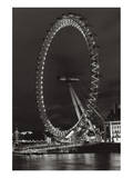 London Eye Ferris Wheel Posters