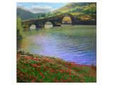River Bridge Kunst von Chris Vest