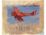 Vintage Plane VI Poster by Alan Hopfensperger