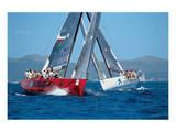 Barcelona Boat Race Poster