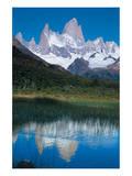 Fitzroy-Massiv Argentina Art