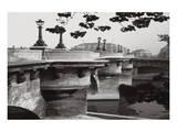 La Samaritaine Pont Neuf Paris Poster