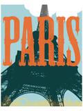 Paris Tour Eiffel Tower Posters
