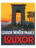 Louxor Winter Palace Print