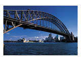 Sidney Harbor Bridge Poster