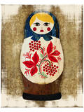 Matryoshka, Russian Doll Katya Prints