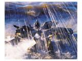 Intermittent Rain II Posters