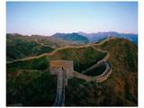 Chinese muur Print