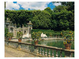Water garden Art