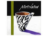 Zebra Mug II Prints by Cathy Hartgraves