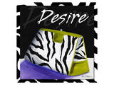 Zebra Purse I Prints by Cathy Hartgraves
