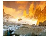 Torres Del Paine Patagonia Print