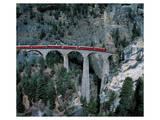 Rhaetian Railway Berninapass Print