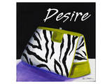 Zebra Purse II Posters by Cathy Hartgraves