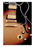 Gibson Guitar Poster by Richard James