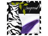 Zebra Vase I Posters by Cathy Hartgraves