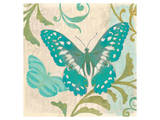 Teal Butterfly II Prints by Alan Hopfensperger
