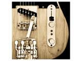 Hipshot Guitar Posters av Richard James