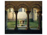 Inner Court Fountain Print