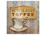 Coffe Flavor English Toffe Art by Alan Hopfensperger