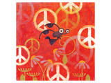 Peace Sign Ladybugs II Posters by Alan Hopfensperger