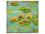 Lotus Lake I Prints by Anne Hempel