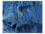 Blue Fragmentation Prints