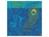 Peacock Bath XII Prints by Alan Hopfensperger