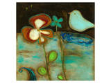 Sea Garden Triptych I Prints by Anne Hempel