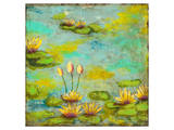 Lotus Lake II Poster by Anne Hempel