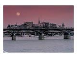 Budapest Bridges Print