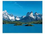 Mountain Lake Patagonia Plakater